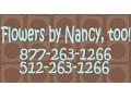 Flowers by Nancy, too! - logo